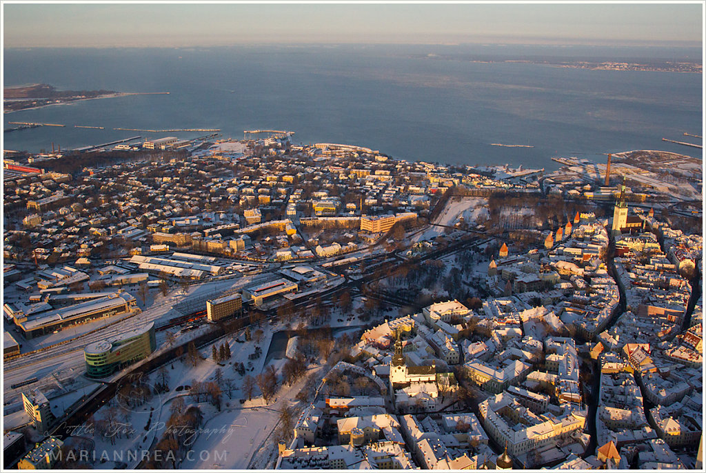 Aerial Tallinn